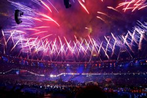 Paralympic Closing Ceremony Fireworks